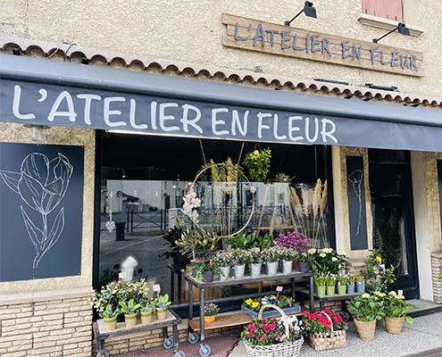 visu atelier en fleur local
