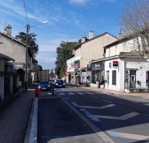 Rue commerçante Cité Saint-Laurent